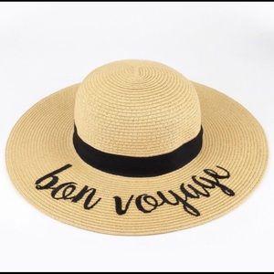 Bon Voyage Beach Sun Hat by C. C.